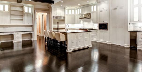 Hardwood in Kitchen